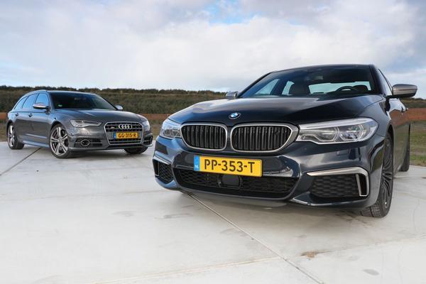 Video: Audi S6 Avant vs. BMW M550i - Dubbeltest