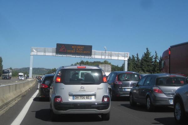 Veel auto's met problemen tijdens vakantierit