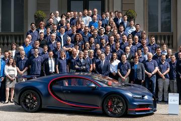 Honderdste Bugatti Chiron naar Midden-Oosten
