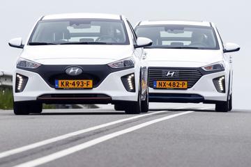 Hyundai Ioniq Electric en Hybrid