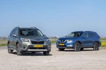 Subaru Forester – Nissan X-Trail - Dubbeltest