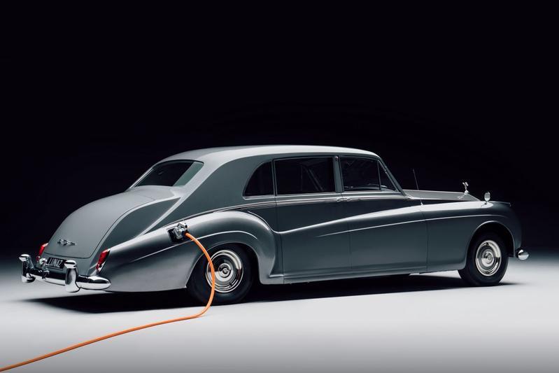Lunaz Rolls Royce elektrische klassieker