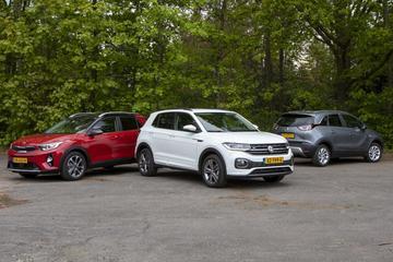 Volkswagen T-Cross - Opel Crossland X - Kia Stonic - Triotest