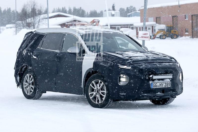 Nieuwe Hyundai Santa Fe duikt weer op