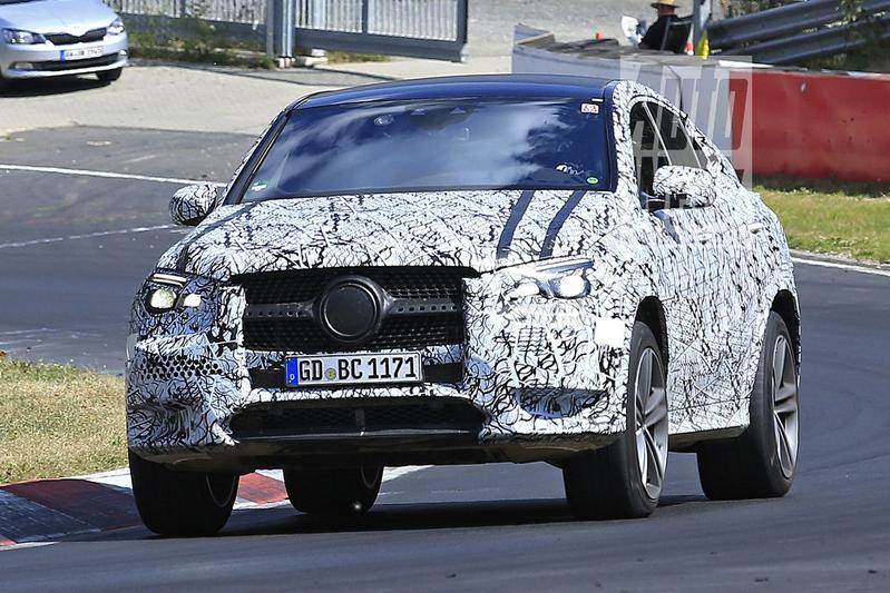 Nieuwe Mercedes-Benz GLE Coupé weer gesnapt