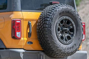 'Ford wil af van Wrangler-naam op Bronco-banden'