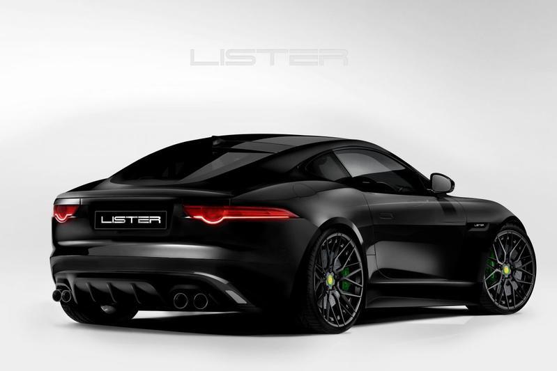 Lister pakt door met aangepaste Jaguar