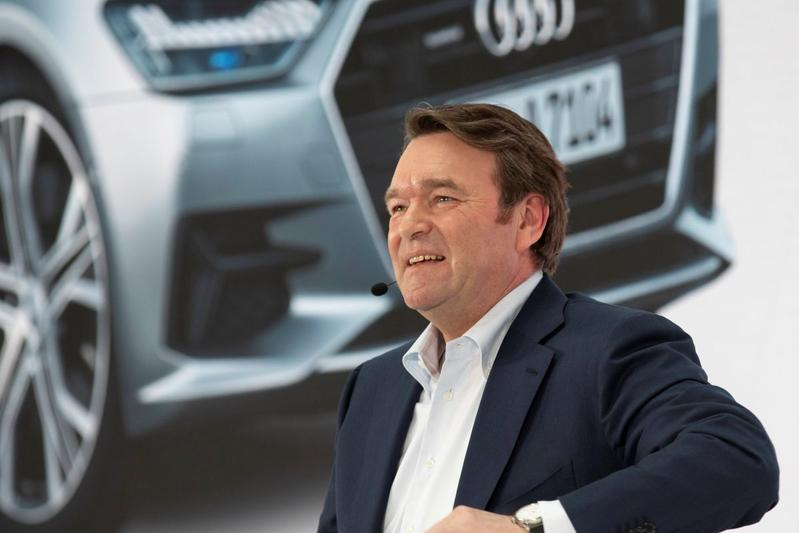 Annual Press Conference 2019 Bram Schot Audi
