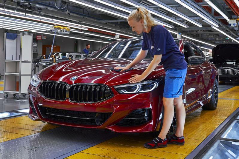 Productie BMW fabriek 8-serie