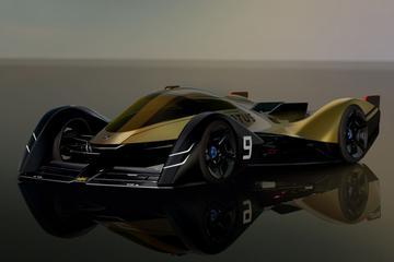 Lotus E-R9 is elektrische raceauto van de toekomst