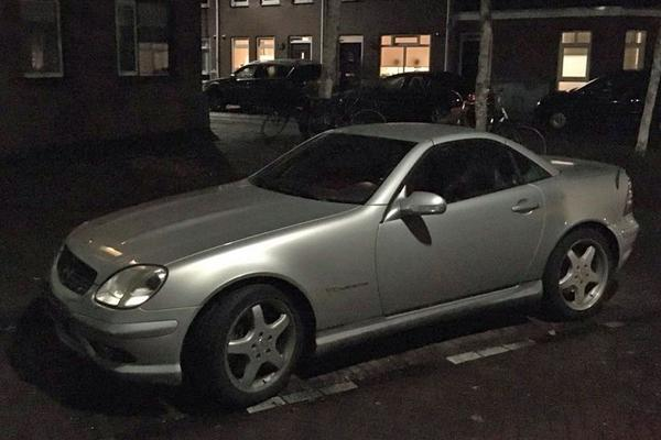 In het Wild: Mercedes-Benz SLK 32 AMG