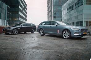 Jaguar XF Sportbrake vs. Volvo V90 – Dubbeltest