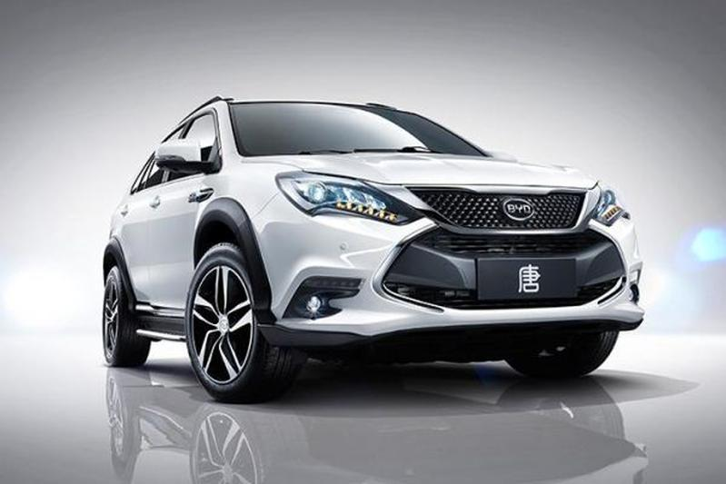 Byd Tang Chinese Hybride Suv Autoweek Nl