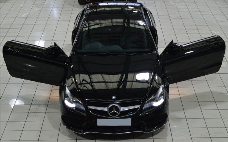 Mercedes-Benz E 220 d Coupé Ambition (2014)
