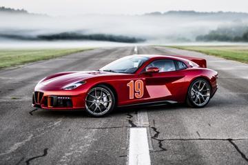 Touring Superleggera Aero 3 is Ferrari F12 met retrosaus