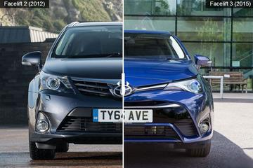 Facelift Friday: Toyota Avensis