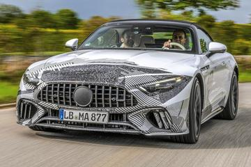 Mercedes-AMG SL klaar voor debuut