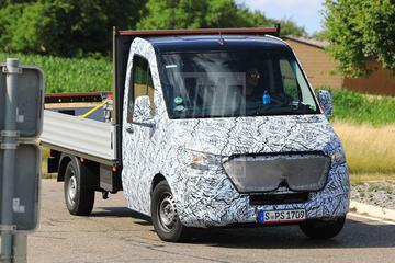 Mercedes-Benz Sprinter opnieuw in beeld