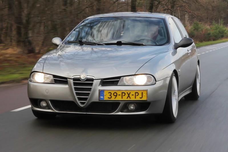 Alfa Romeo 156 1.9 JTD – 2005 – 610.754 km - Klokje Rond