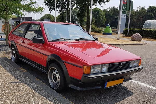 In het wild: Volkswagen Scirocco GT (1982)