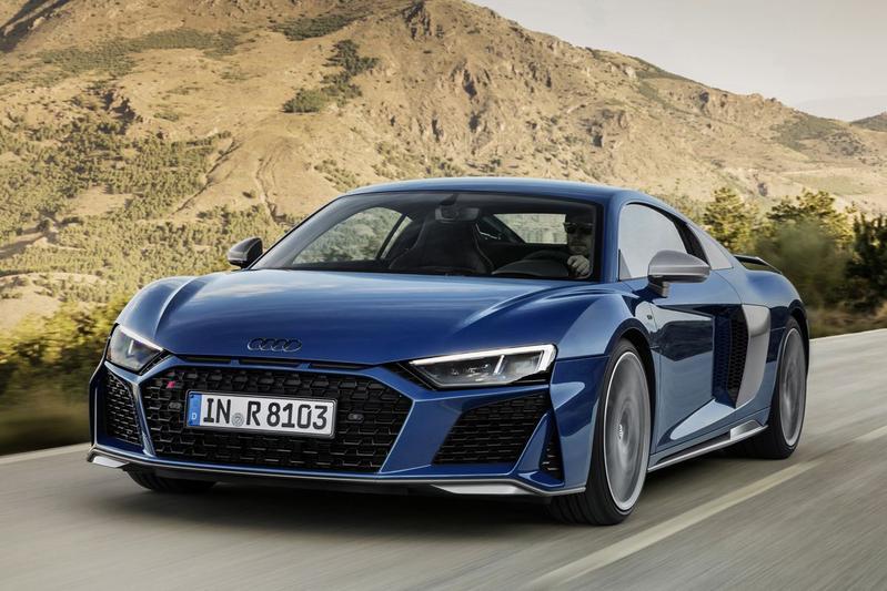 Audi R8 onder het mes