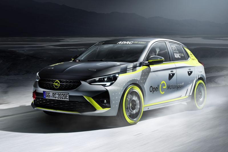 Opel Corsa e-Rally ADAC