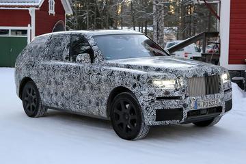 Rolls Royce Cullinan 2018 - Spionage