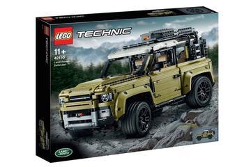 Lego-Land Rover lijkt nieuwe Defender