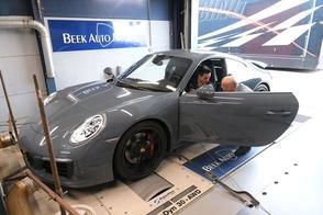 Porsche 911 Carrera S - Op de Rollenbank
