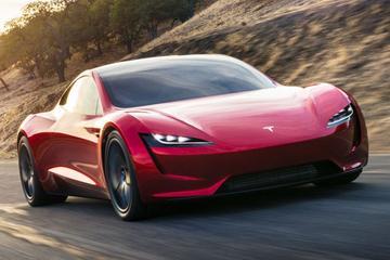'Tesla Roadster krijgt optionele raketmotoren'