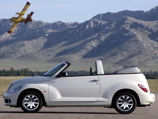 Afgestoft: Chrysler PT Cruiser Cabrio