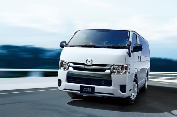 Mazda toont nieuwe Bongo Brawny