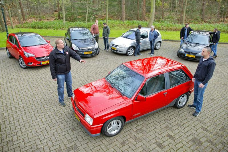 Duurtestmeeting: alle generaties Opel Corsa