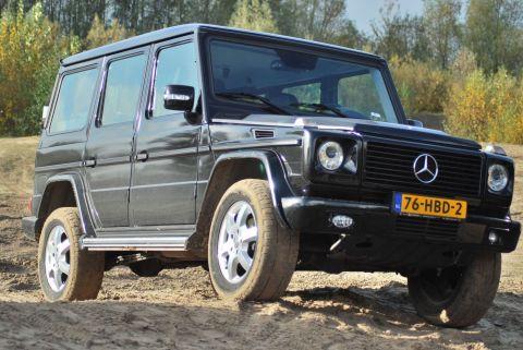 Mercedes Benz G 320 Cdi Stationwagon Lang 2008 Autoweek Nl