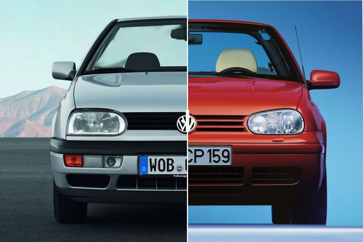 facelift friday volkswagen golf iii iv cabrio. Black Bedroom Furniture Sets. Home Design Ideas