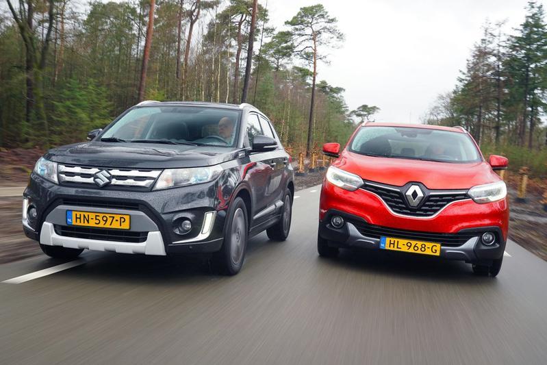 Renault Kadjar - Suzuki Vitara - Dubbeltest