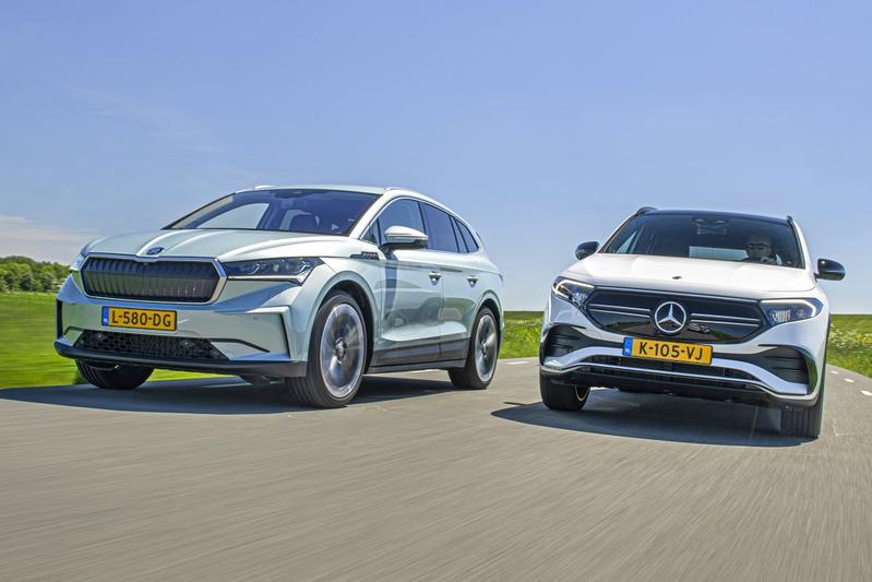 Test: Skoda Enyaq vs. Mercedes-Benz EQA