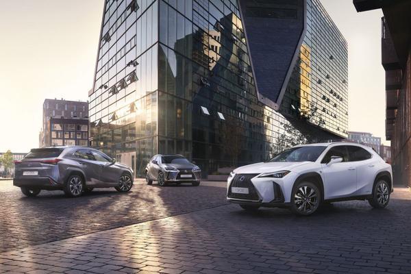 Lexus UX toch niet als 200 naar Nederland