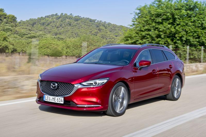 Mazda 6 facelift - Rij-impressie