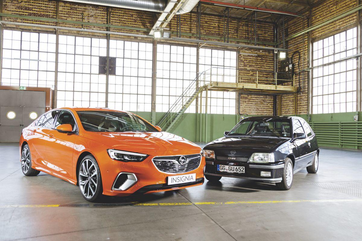 Opel Insignia GSi versus Opel Kadett GSi