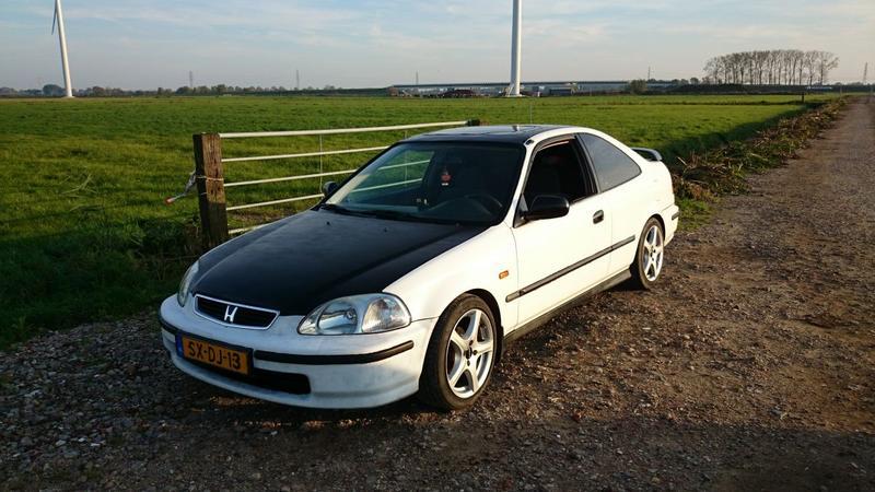 Honda Civic coupe ej6 (1998)