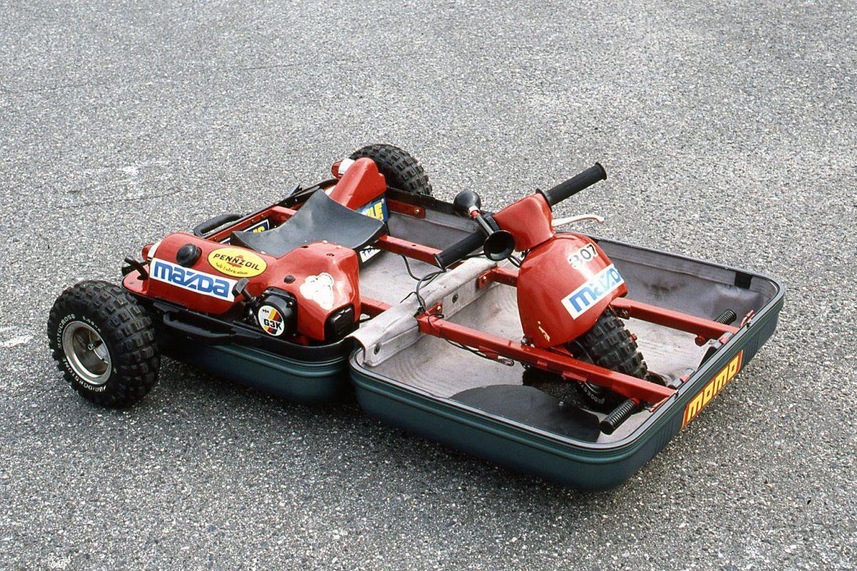 Mazda Suitcase Car
