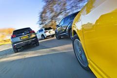 Toyota C-HR - Peugeot 3008 - Audi Q2 - Volkswagen Tiguan