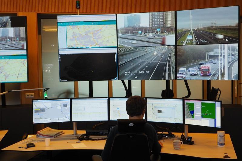 Achtergrond: kijkje in de verkeerscentrale