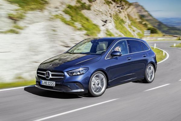 Mercedes-Benz B-klasse krijgt Nederlandse prijs