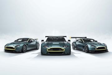 Aston Martin eert Vantage-racers met complete set