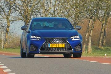 Rij-impressie Lexus GS-F