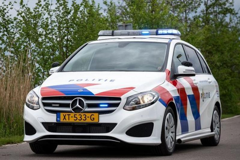 Mercedes-Benz B-klasse politieauto politie