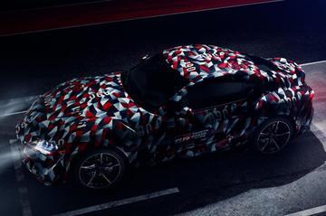 Toyota Supra te zien tijdens Goodwood
