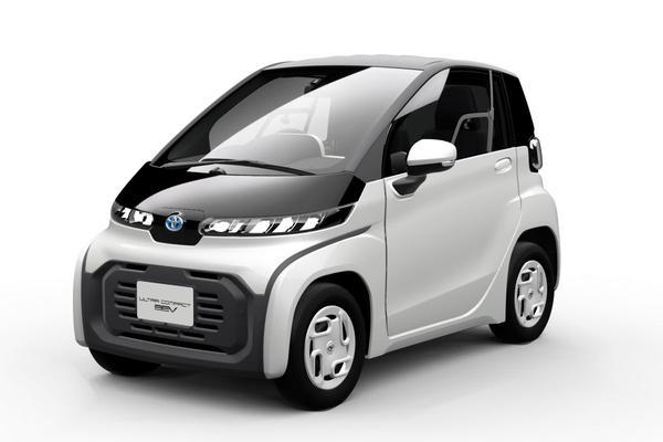 Toyota neemt extreem compacte EV's mee naar Tokio